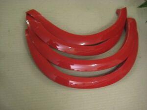 2009-16 Dodge Ram 1500 Factory OEM Fender Flares FLAME RED