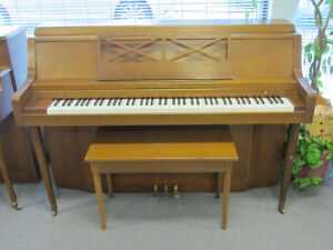 Two pianos for sale $1000 each with warranty, delivery & tunin