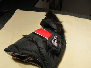 Brand new winter jacket for small dog.