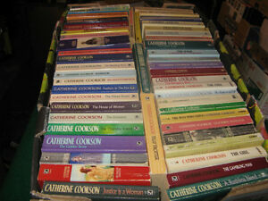 50 Catherine Cookson books $40 for the lot St. John's Newfoundland image 1
