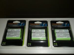 New Cameron Sino cordless phone recharable battery's $10.00 each