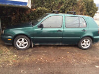 Selling a 1997 Volkswagen Golf