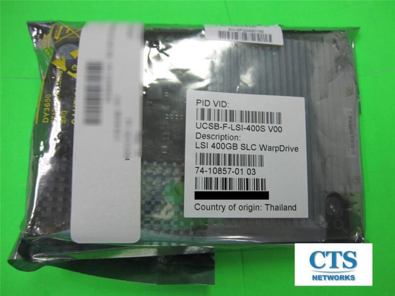 New Sealed Cisco Lsi 400gb Slc Warpdrive Ucsb-f-lsi-400s Solid State Drive Ssd