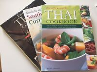 Thai cookbooks