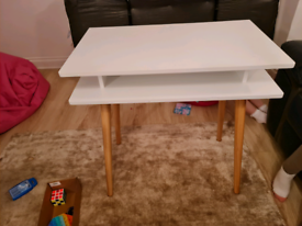 Small White Wooden Desk
