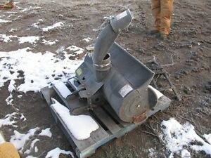 Snow blower for garden tractor Strathcona County Edmonton Area image 2