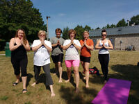 Yoga in the Park With Karen in Cambridge Wednesday morn./eve.