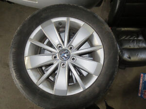 CONTINENTAL ALL SEASON TIRES WITH RIMS FOR VW JETTA