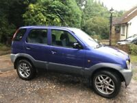 DAIHATSU TERIOS 4X4 1.3 EL 5 DOOR IN VGC - GREAT LITTLE 4X4