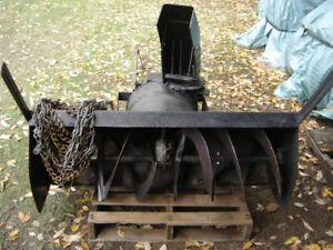 Souffleuse a neige pour tracteur 48 pouces était sur produit MTD