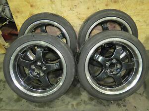 JDM Work Meister S1 Wheels, rims, Mags, 17X7 +35 5X100 PCD, WRX