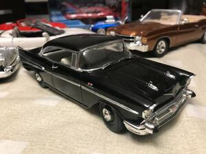 Chevrolet bel air 1957 diecast 1/24 die cast