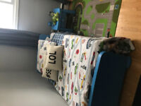 Kids Bed and Nighstand
