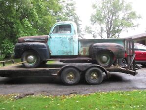 1951 Ford F1 What's Left, Complete Driveline