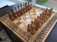 Chess Board - Wooden, Hand Made, Ukraine