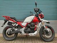 Moto Guzzi V85 TT Premium 2020 Red & White - Adventure / Touring - Latest Model