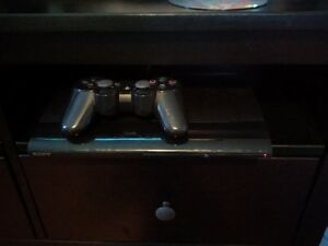 PS3 with one controller