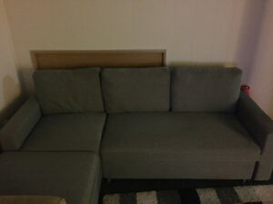 Sectional Sofabed with storage
