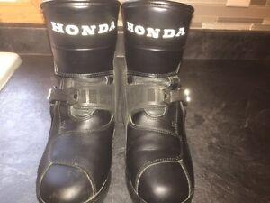 Ladies Honda Street bike riding boots