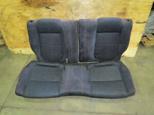 JDM Honda DC2 Acura Integra Type R Rear Bucket Seat Black Recaro