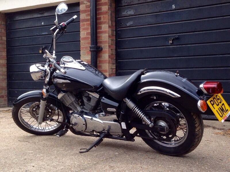 Yamaha Dragstar XVS 125 125cc CBT Learner Legal Chopper Cruiser
