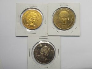 WAYNE GRETSKY SET OF THREE COLLECTORS COINS