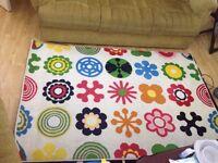 Ikea rug...