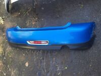 2011 on BMW mini r56 genuine rear bumper complete colour choice