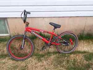 TWO RED BMX GREAT DEAL