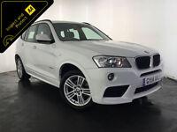 2014 BMW X3 SDRIVE18D M SPORT DIESEL 1 OWNER BMW SERVICE HISTORY FINANCE PX