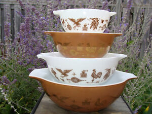 Vintage PYREX FIRE-KING FEDERAL BOWLS - GREAT CONDITION! London Ontario image 7