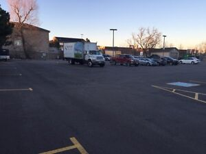 Parking on Outdoor plaza