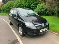 2012 12 REG VAUXHALL ZAFIRA EXCLUSIVE 1.6 PETROL, 7 SEATER, ONE PREVIOUS OWNER