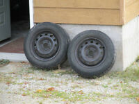 Set of Ford Focus Tires and Rims for 2000 and up