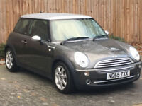 2005 '55' Mini Hatch 1.6 Cooper Park Lane, 3 Door Hatchback, Petrol, Manual.