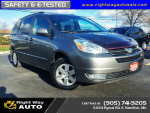 2004 Toyota Sienna CE | SAFETY & E-TESTED