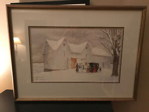 """Going Carolling"" Walter Campbell (Numbered/Signed Artist Proof)"