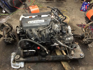 K24 accord 2008 swap complet