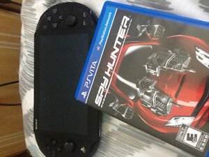 Psvita with game and 8gb memory card