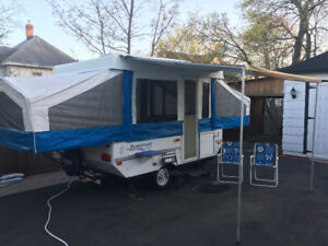 Hard top Tent Trailer