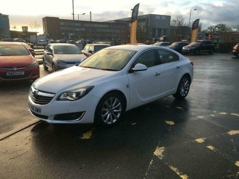 2016 Vauxhall Insignia 2.0 ELITE NAV CDTI ECOFLEX S-S WITH IVORY LTH,SAT NAV,PHO