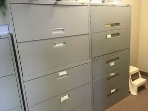 **Free**  Two--- 5 drawer filing cabinets.    Must pick up.