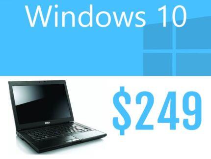 Laptops Windows 10 For Sale at $249 Sydney City Inner Sydney Preview