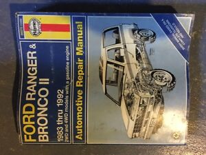 Ford Ranger,Bronco, And GM Manuals.