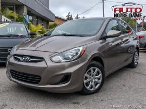 Hyundai Accent 4dr Sdn 75 000 KM ** NOUVEL ARRIVAGE ** 2013