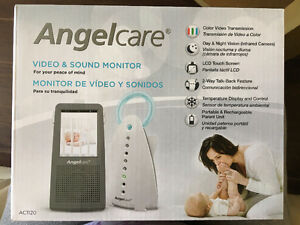 Brand New Angelcare Video & Sound Monitor AC1120