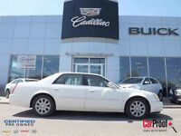2008 CADILLAC DTS TOIT OUVRANT, BAS MILLAGE,