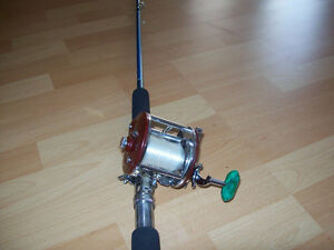 FISHING  TACKLE   --  RODS AND REELS    ETC.