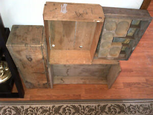 Crates and boxes, vintage and antique Kawartha Lakes Peterborough Area image 4
