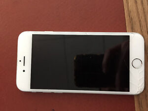 White/ Silver IPhone 6